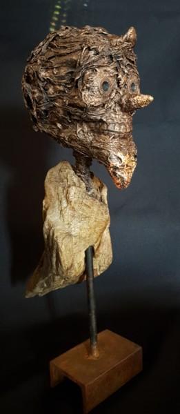 Birdman skull